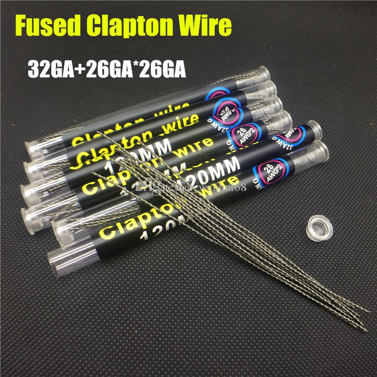 Clapton Wire Coils Tiger Wire Kanthal Wire A1 120mm*26*26*32awg ...