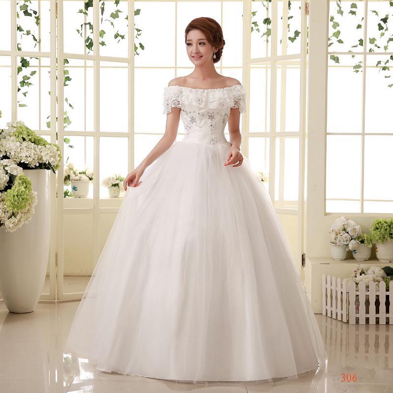 Cheap Wedding Dresses For Sale: China Cheap Wedding Dress Vestido De Noiva 2015 New Flower