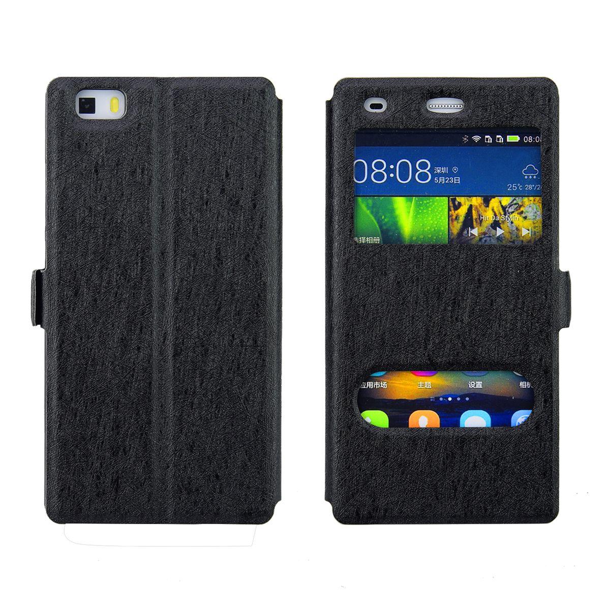 2c323b5e254 Carcasas Para El Caso Del IPhone X Doble Ventana De Doble Vista Con Soporte  Soporte Funda De Cuero Con Tapa Para Iphone 8 8 Plus 7 7 Plus 6 6 Plus 5 ...