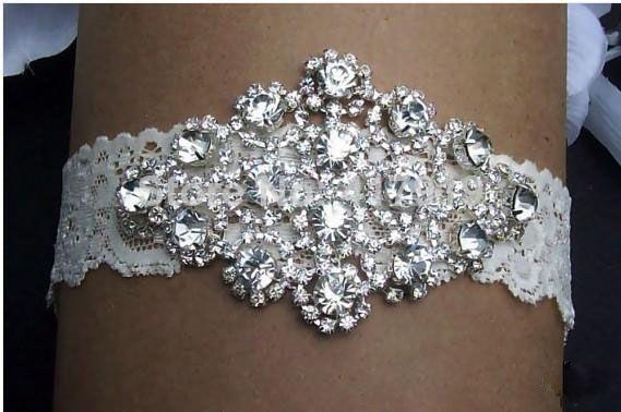2015 Real Image Sexy Lingerie Rhinestone Lace 2014 Bridal Garters Belt Wedding Garter 2015 Fashion Wedding Accessories for Women New