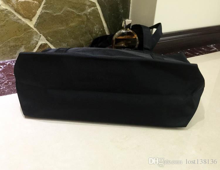 Klassische Pailletten Logo Einkaufstasche Pailletten Dicke Oxford Taschen klassische Muster Reisetasche Frauen Washbag Kosmetik Make-up Aufbewahrungskoffer