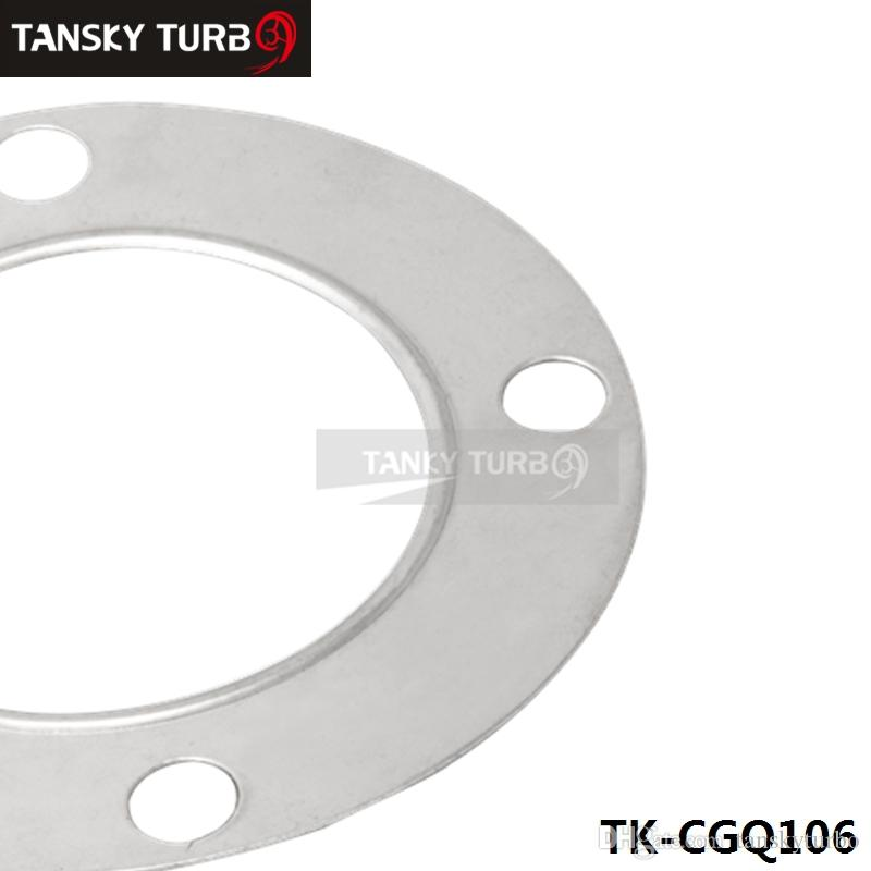 "TANSKY - stainless steel T4 Turbo Discharge Gasket Fit 3"" Down-Pipe To Turbo Exhaust Manifold JDM TK-CGQ106"