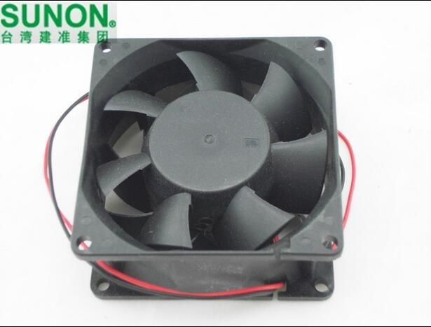 SUNON PMD2408PMB1-A 24V 9.6W 8038 genuine original 2 wire converter cooling fan