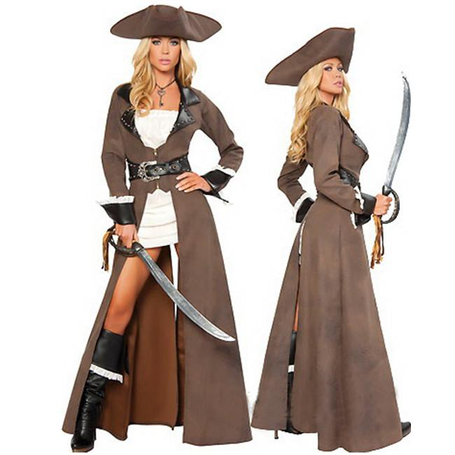 Cosplay Sexy Pirate Costumes For Women Deluxe Pirate