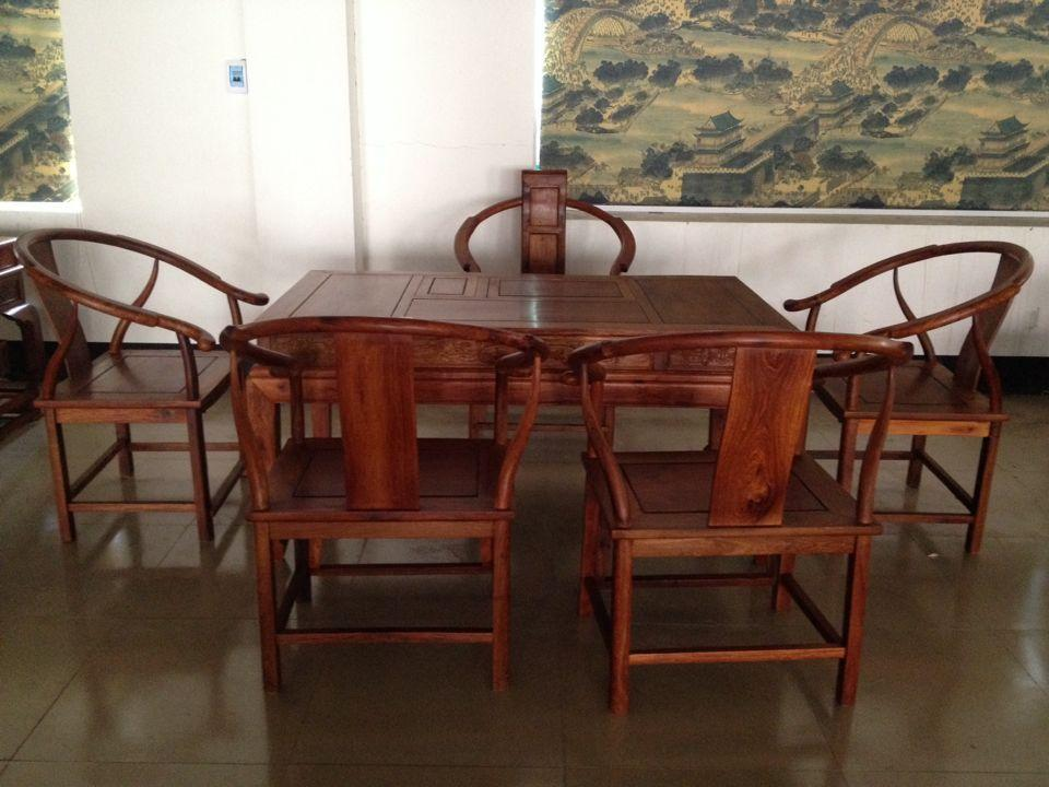 2018 Burmese Rosewood Gany Furniture Chinese Tea Table Wood Desk Chair Six Sets Of Large Fruit Tables From Zhoudan5249