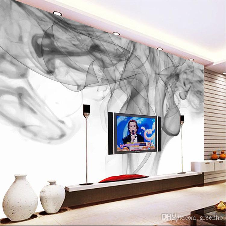 Fantasy smoke fog wallpaper personalized custom 3d photo for Ceiling mural in a smoker s lounge