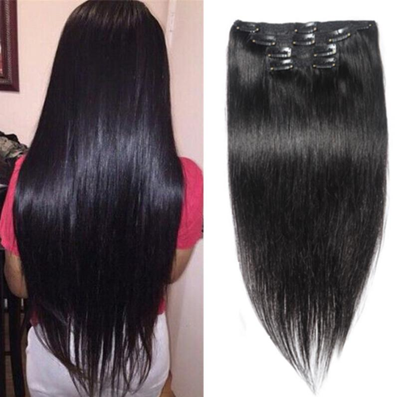 Clip in human hair extensions 70gperuvian straight clip in hair clip in human hair extensions 70gset peruvian straight clip in hair extensions natural 1b clip in human hair extensions for black women pmusecretfo Image collections