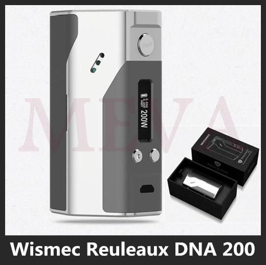 original wismec reuleaux dna 200 tc box mod wismec reuleaux dna 200w