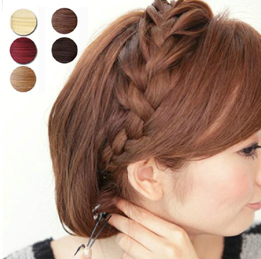 Maike mh1204ponytail hairpiece braid hair extensions pieces ponytail hairpiece braid hair extensions pieces braids synthetic long blonde curly clip on hair pieces women color brown blond pmusecretfo Image collections