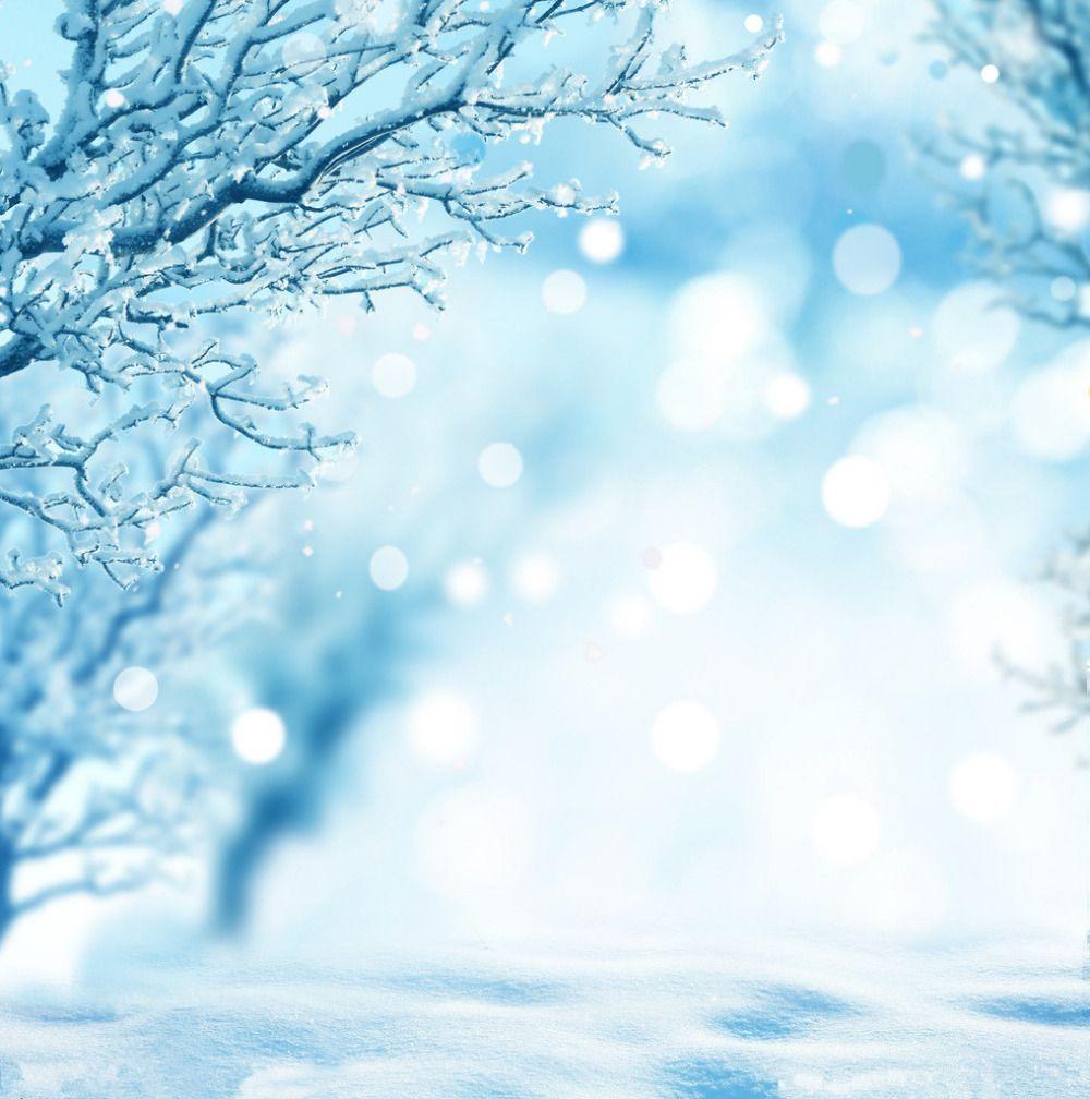 how to make a winter wonderland backdrop