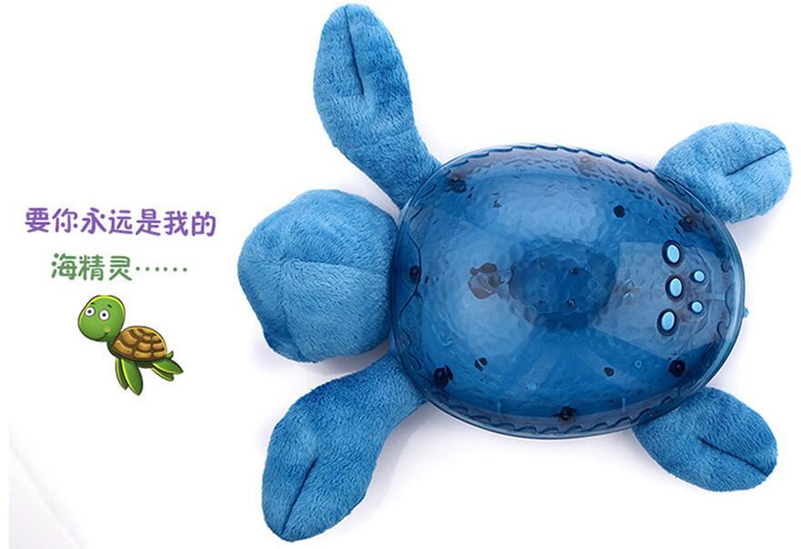 a bag Children baby sleep night light creative spirit lamp sea, ocean Star Projector lamp, speed sound of the waves