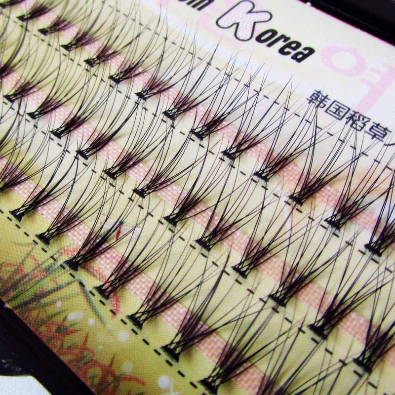 8mm 10mm 12mm DIY eyelashes natural false eyelashes individual eyelashes plant eye lashes Individual lashes eyelashes extensions individual