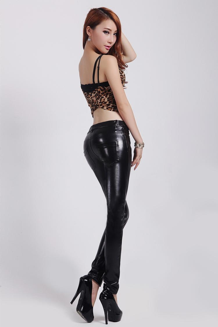Sexy leather jeans agree