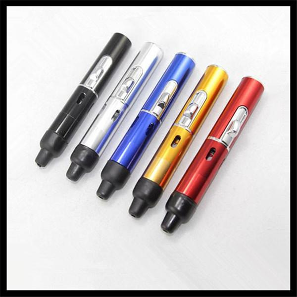 Wholesale Sneak a Vape Click N Vape Mini Dry Herb Vaporizer Pen Smoking E-cig Pipe Incense Burner Gas Lighter Vapor Kit