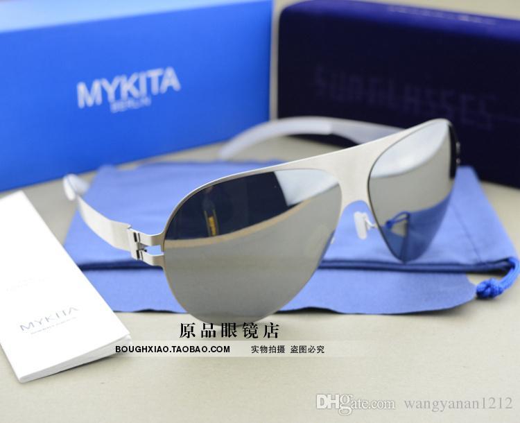 Occhiali da sole tedeschi Mykita di spedizione gratuiti Occhiali da sole Occhiali da sole super leggeri Occhiali da sole da uomo e da donna