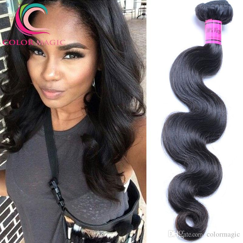 100 Raw Virgin Indian Hair Unprocessed Indian Body Wave Hair Weave