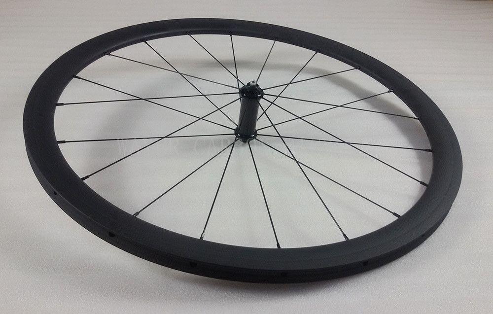 light 38mm tubular road bike wheels 20/24h Powerway R36 bike hub pillar super light 1420 aero spokes 3k matte carbon bike wheelset w/ gift