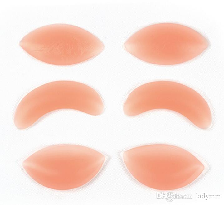 619295157 2019 Chicken Fillets Silicone Breast Enhancers Bra Insert Pad Silicone Bra  Push Up Invisiable Inserts Breast Enhancers Pads OPP Packing From Ladymm