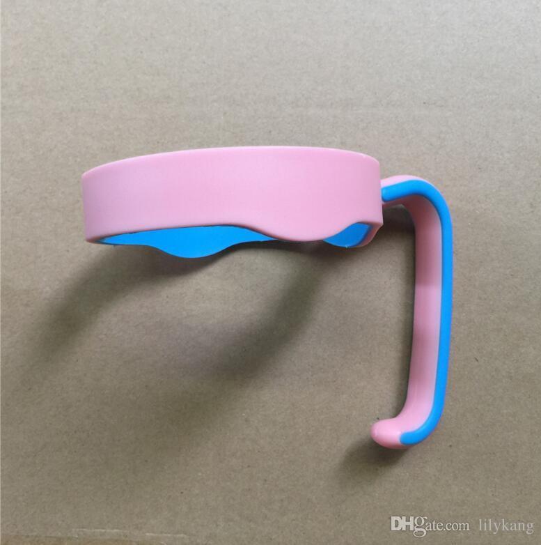 2017 neue Tasse Griff für 20 OZ Auto Tassen Becher Kunststoff 6 Farben Griff perfekt für 20OZ Auto Tassen