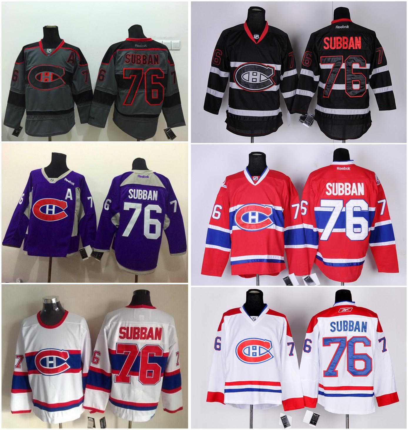 ... Women DHL Montreal Canadiens 76 P-K- Subban Red White Hockey Jersey 266294a67