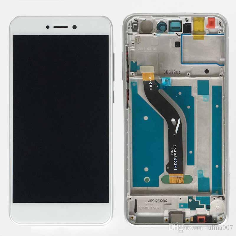 For Huawei P8 lite 2017 PRA-LA1 PRA-LX1 PRA-LX3 / honor 8 lite WAS-LX1A LCD Display Touch Screen Digitizer with frame Assembly