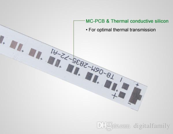 Tubos integrados en forma de V super brillantes Tubos T8 Led Luces de 32W 5FT 1.5 m Lámpara fluorescente LED de 270 ángulos Doble resplandor Cálido / Natural / Blanco frío