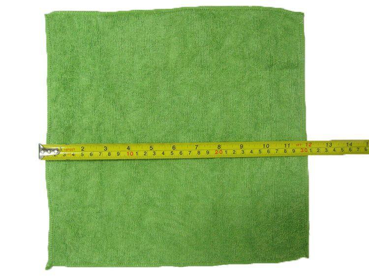"Microfiber Towels 11.8""*11.8"" Multi-function Towels Magic Dish Cloth Scouring Pad Red Green Purple,dandys"