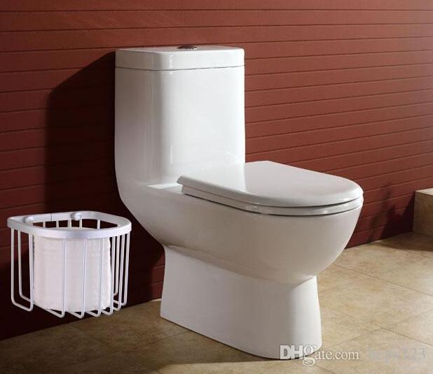 The new space aluminum bath shelf toilet paper towel box of towel rack toilet paper basket bathroom pendant