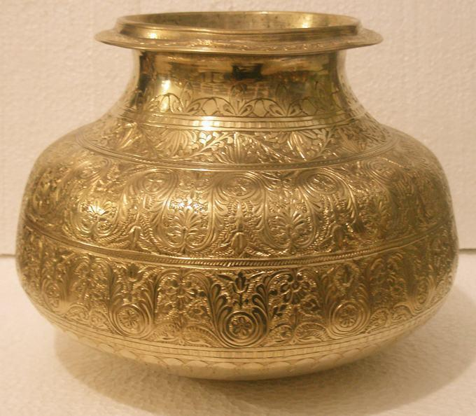 India Put Copper Vase Antique Gifts Gold Antique Vase India Online
