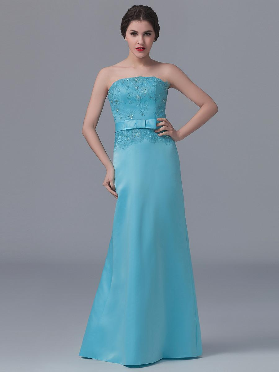 Latest bridesmaids dresses image collections braidsmaid dress 2016 latest bridesmaid dress full length satin strapless lace 2016 latest bridesmaid dress full length satin ombrellifo Image collections