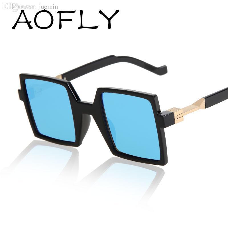 d6eda6ce137 Wholesale AOFLY Fashion Cool Square Unique Sunglasses Men 2015 Summer Style  Sun Glasses Women Brand Designer Vintage Gafas Oculos De Sol Canada 2019  From ...