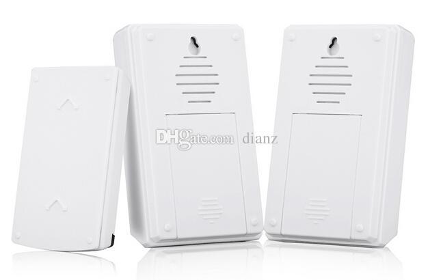 Campanello intelligente senza fili impermeabile 5F Forecum con 2 ricevitori Campanello porta CC 36 campane 100m Portata ufficio a casa