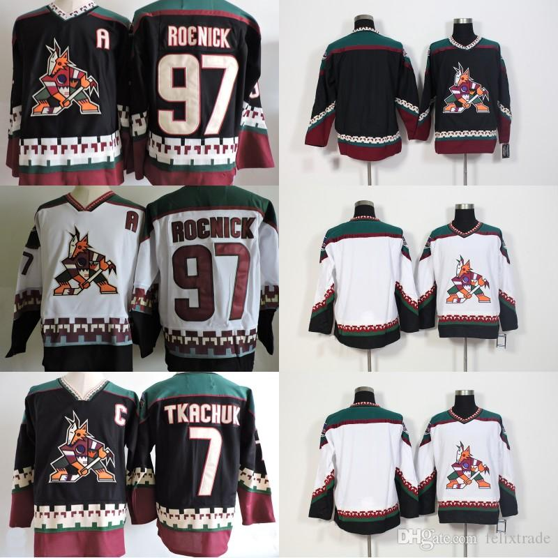 95dae12ac Phoenix Coyotes Vintage Jersey 7 Keith Tkachuk 97 Jeremy Roenick ...