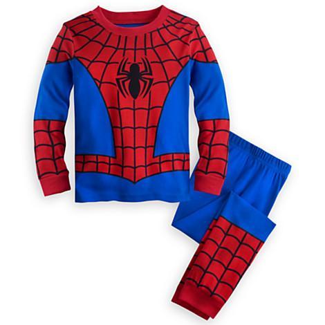 2018 Vente Chaude Enfants Garçons Ensemble Spider-Man Iron Man Bande Dessinée Garçons Loisirs Costume 100% Coton À Manches Longues Vêtements Set Pour Enfants Au Détail K1045
