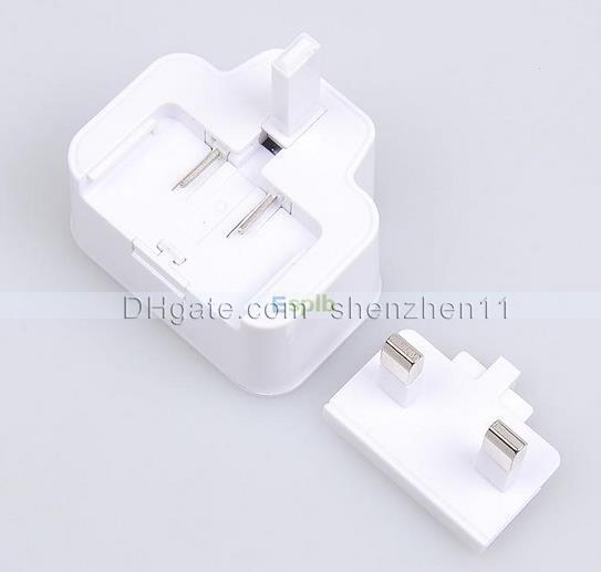 Alta calidad Real 2A Reino Unido Enchufe AC 5v Adaptador de corriente Cargador de viaje USB Cargadores universales para SamSung Galaxy S3 S4 S5 Nota 2 3 CAB050