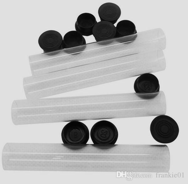 embalaje tubo de plástico para el plástico atomizador CE3 y el cartucho atomizador vidrio atomizador ce3 Cartucho Vape Pen 510 cartucho