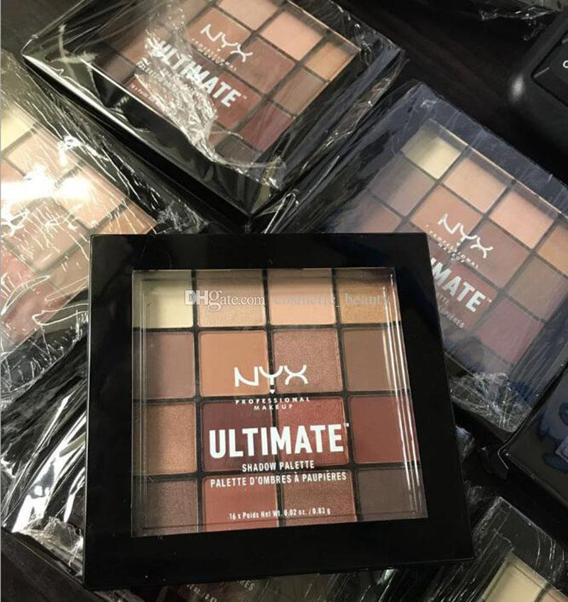 New Arrival NYX Professional Makeup Warm Neutrals Eyeshadow Palette eyeshadow palette eyeshadow DHL Free shippi ! DHL