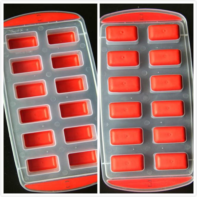 セキュリティシリコーン小アイスキューブトレイ/アイス型/クリエイティブアイスメーカーフルーツ形状モデリング格子