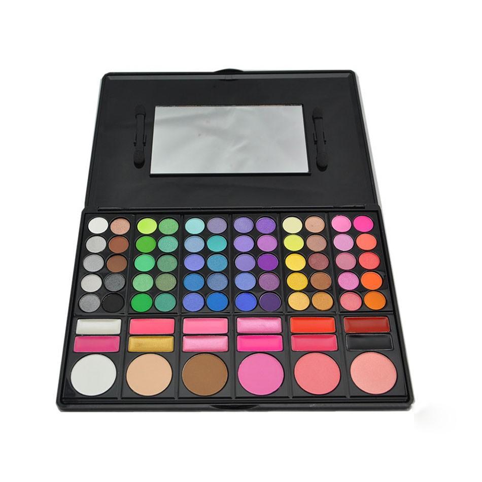 مستحضرات التجميل 78 ألوان ظلال الألوان لوحة الأرض سيدة ظلال العيون لوحة ظلال العيون ماكياج مسحوق لوحة شحن مجاني