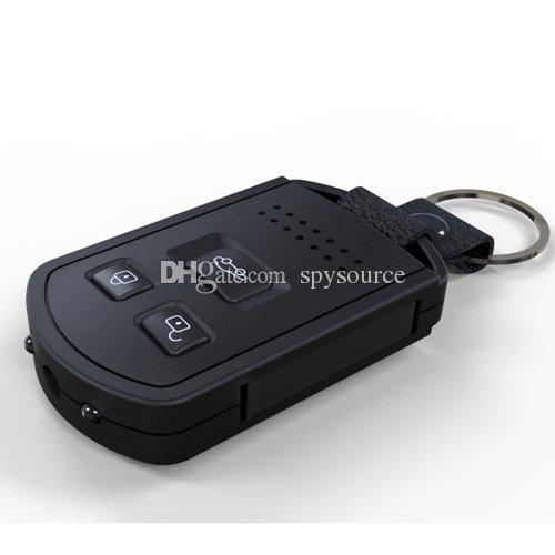 1080P HD IR Night Vision Mini DV Keychain Car Remote Camera DVR, Support Motion Detection And TV Out Function
