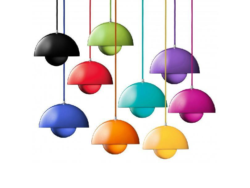 Verner Panton Flowerpot Pendant Lamp Dining Room Living Room Ceiling Light  Metal Flower Pot Modern Bar Coffee House UFO Chandelier Online With  $104.57/Piece ...
