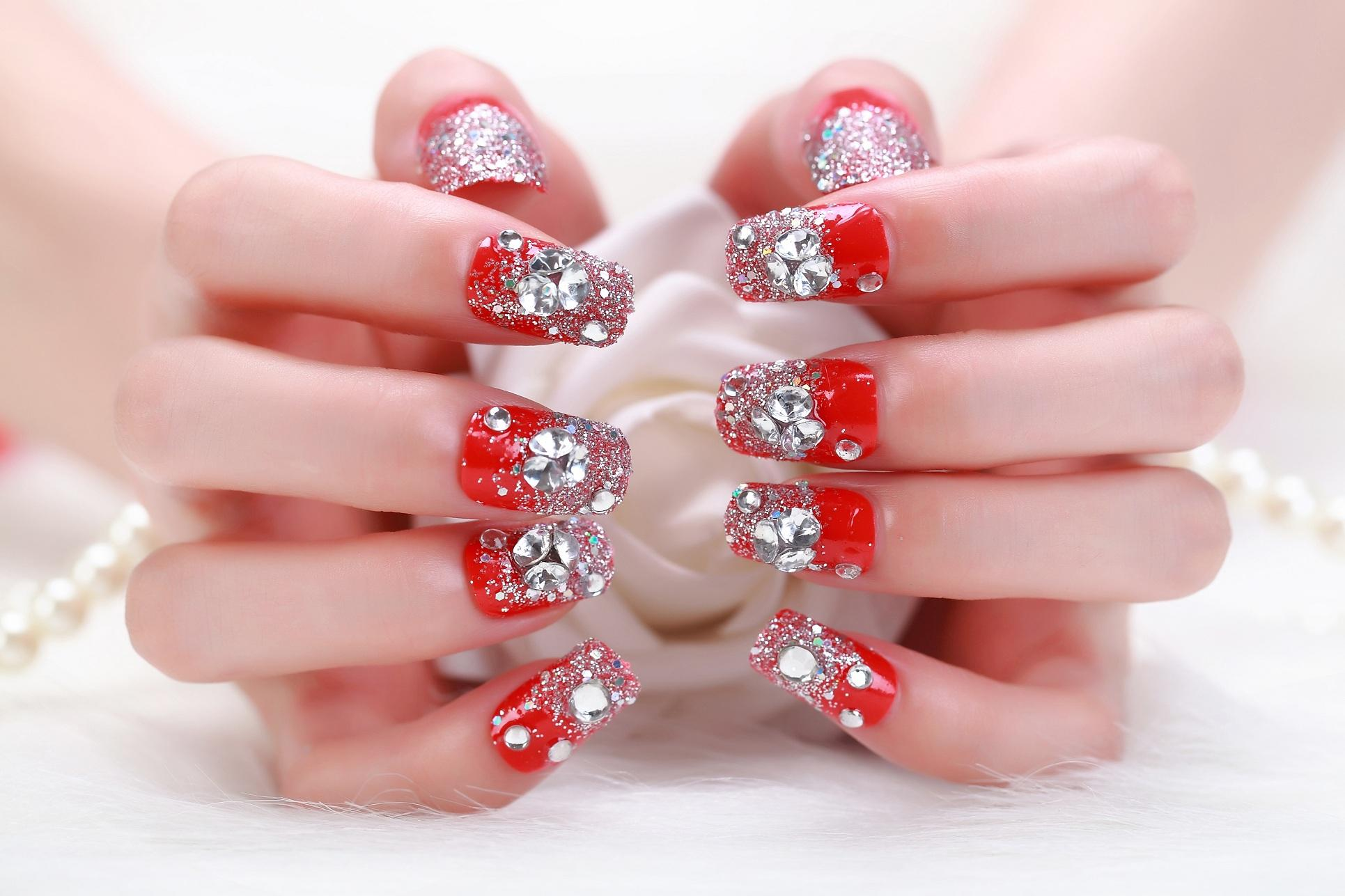 2015 Hot Sales False Nail New French Short Cute Patch Finished Fake ...