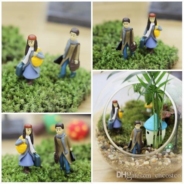 Freedhl jimi cartoon office desk decor bonsai