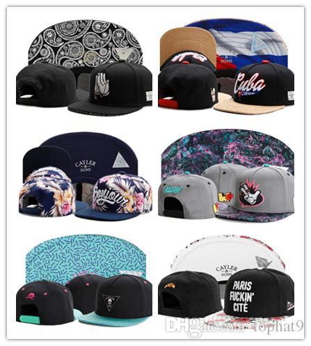 High Quality Adjustable Ball Caps HATER Snapback Hats Cayler   Sons  Snapbacks Hat Caps Cap Professional Caps Factory Womens Baseball Hats Cheap  Snapback ... 7d850b913de