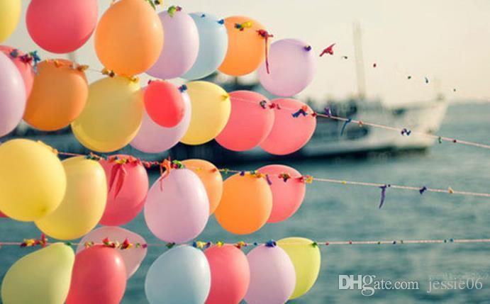Мода латексные шары партия свадьба день рождения украшения воздушный шар дети childern подарок девочка мальчик игрушка рождественское мероприятие праздничные поставки