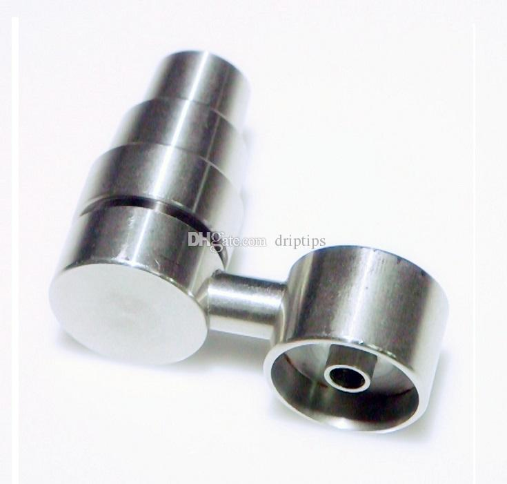 4 In 1 14mm/18.8mm Male and Female Joint Arm Domeless Titanium Nail for Glass Bong Water Pipe Mini Oil Rig Percolators Bubbler Free DHL