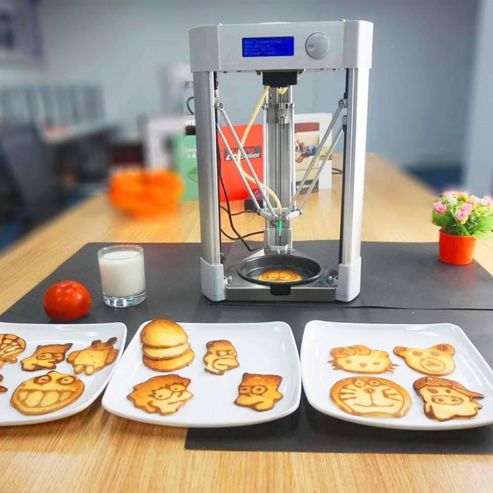 2019 Brand New Home Used Desktop Mini Printing Size Food Pancake 3D Printer  Machine For Sale
