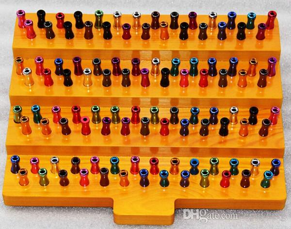 shelf e liquid e cigs display in legno espositore in legno portaborse portapacchi drip tip e juice liquid bottle mods vaporizzatore meccanico
