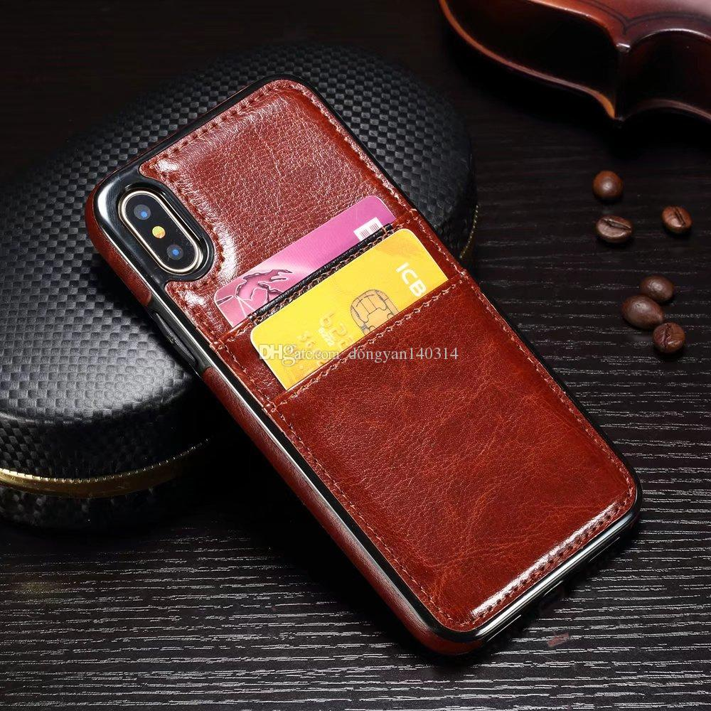 iphone 8 case shockproof leather