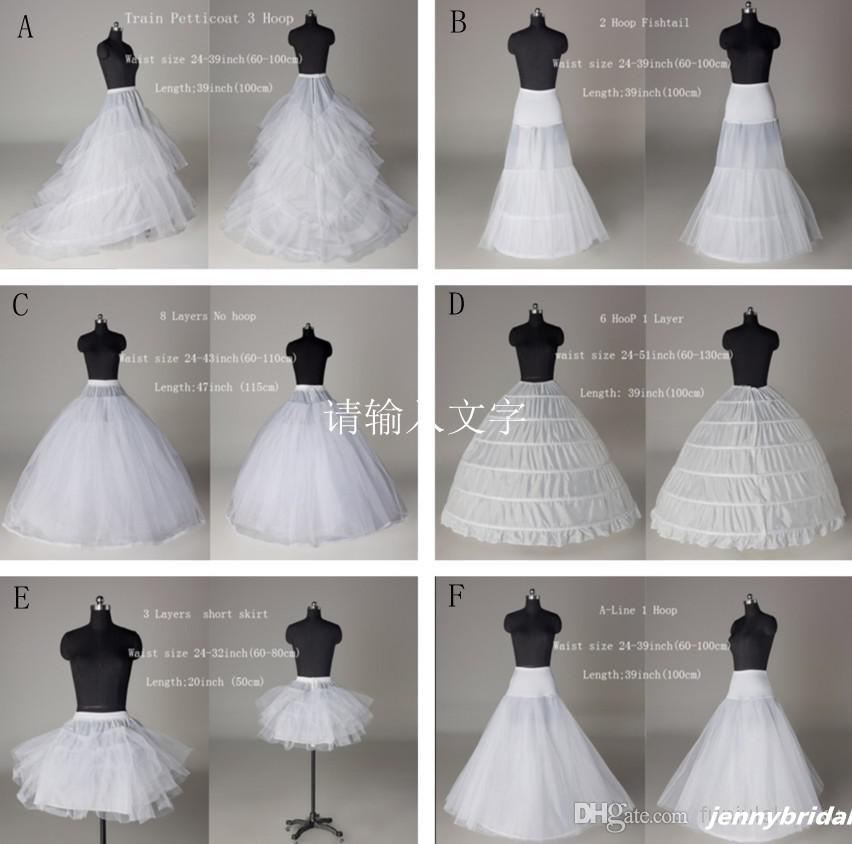 2015 Net Skirt Wedding Dress Tulle Petticoats 6 Styles Crinoline Girls Petticoat Slip Underskirt Hoops Plus Sizeknee Length Mini Vintage
